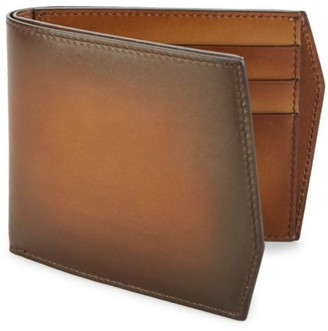 Corthay Peter Classic Leather Bi-Fold Wallet