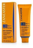 Lancaster NEW Sun Control Face Uniform Tan Cream SPF30 50ml Womens Skin Care