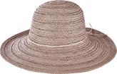 San Diego Hat Company Paperbraid Round Crown Floppy Hat PBL3078 (Women's)