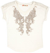 Miss Me Girls 7-16 Embellished Butterfly Top