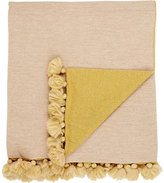 Alicia Adams Alpaca Pom-Pom-Embellished Baby Alpaca Throw