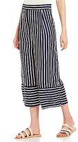 Soulmates Vertical-Stripe Culottes