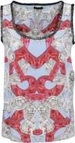 Versace Printed Tank Top