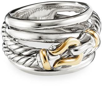 David Yurman DY Crossover Buckle Ring