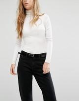 Vero Moda Skinny Patent Belt