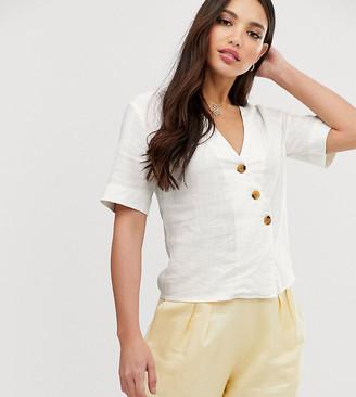Glamorous Tall relaxed blouse-White