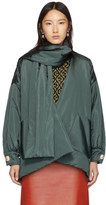 Gucci Green Taffeta Jacket