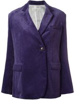 Golden Goose Deluxe Brand corduroy blazer - women - Cotton/Cupro/Viscose - XS