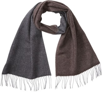 Chelsey Imports Heather Striped Cashmere Scarf