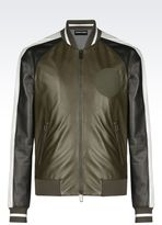 Emporio Armani Light leather jacket