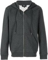 A.P.C. Locker zipped hoodie