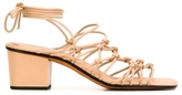 Chloé Knotted Ankle Wrap Sandal