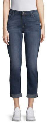 Hudson Flood Express Straight Cropped Jeans