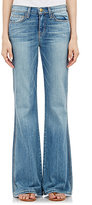 Current/Elliott WOMEN'S THE GIRL CRUSH FLARED JEANS-BLUE SIZE 24