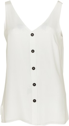 Wallis **TALL Ivory Button Through Camisole Top