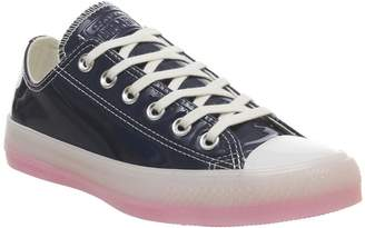 Converse All Star Low Trainers Navy White 90s Pink Ice Exclusive