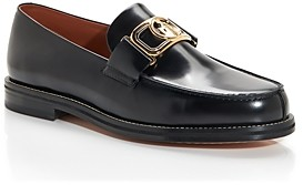 Lanvin Men's Swan Moc Toe Loafers
