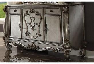 Mutsumi Home Studio Owen Luxury Combo Dresser Color: Antique Platinum