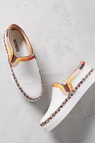 Schutz Tirian Embroidered Sneakers