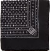 Dolce & Gabbana Geometric-print silk pocket square