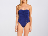 Maryan Mehlhorn Royalty Ruched Bandeau