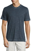 Robert Graham Traveler V-Neck T-Shirt, Dark Blue