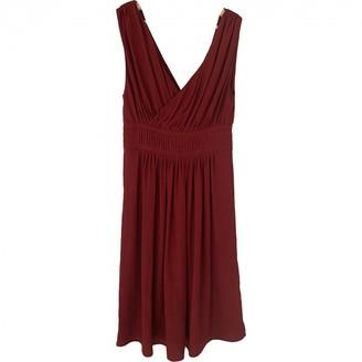 Etoile Isabel Marant Burgundy Synthetic Dresses