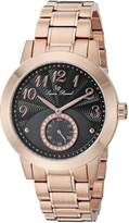 Lucien Piccard Women's Garda 40002-RG-11 Rose Gold-Tone/ Stainless Steel Watch