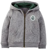 Just One You made by carter Toddler Boys' Hooded Sweatshirt - Just One You Made by Carter's® Gray