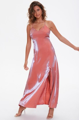 Forever 21 Satin Maxi Slip Dress