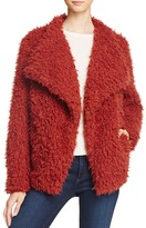 Vero Moda Jayla Shaggy Faux Fur Coat