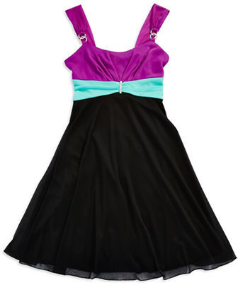 ROXETTE Girls 7-16 Colorblock Dress