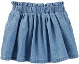 Osh Kosh Toddler Girl Chambray Skirt