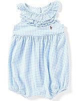 Ralph Lauren Baby Girls 3-24 Months Gingham Romper