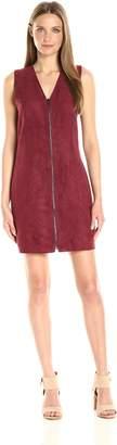 Olive + Oak Olive & Oak Women's Suede Zip Dress