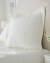Soma Intimates Luxe Quilted Euro Sham Ivory