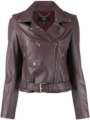 Arma zip-up biker jacket