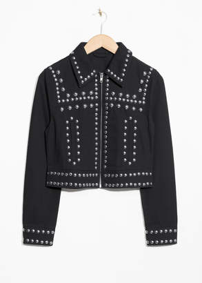 And other stories Dome Studded Jacket