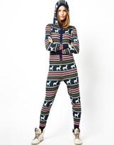 Asos Knitted Christmas Fairisle Onesie