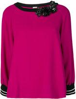 I'M Isola Marras embellished blouse