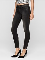 Calvin Klein Skinny Faded Black Twisted Jeans