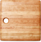 Phil Gautreau Wood Design Square Cutting Board, Tan