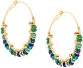 Gas Bijoux Comedia hoop earrings
