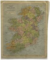 One Kings Lane Vintage Map of Ireland