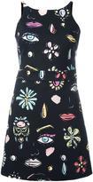 Moschino vanity print dress
