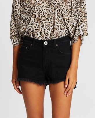 One Teaspoon Bonita High-Waist Denim Shorts