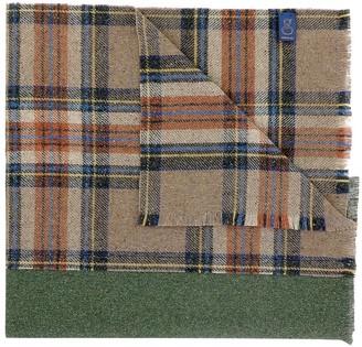 GIERREMILANO Wool tartan scarf