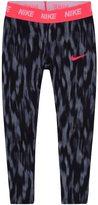 Nike Toddler Girl Dri-FIT Black Patterned Leggings