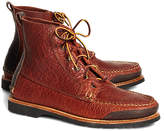 Brooks Brothers Rugged Leather Boots