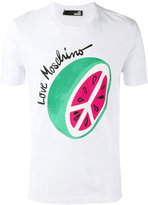 Love Moschino watermelon print T-shirt